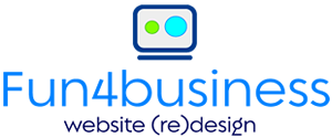Fun4business website design logo