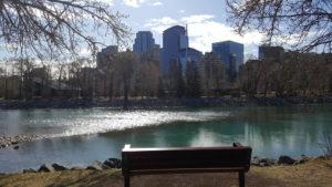 Calgary River Photo by Allison Kessler