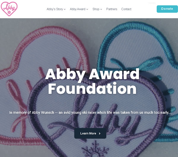 Fun4business redesigned the Abby Award website